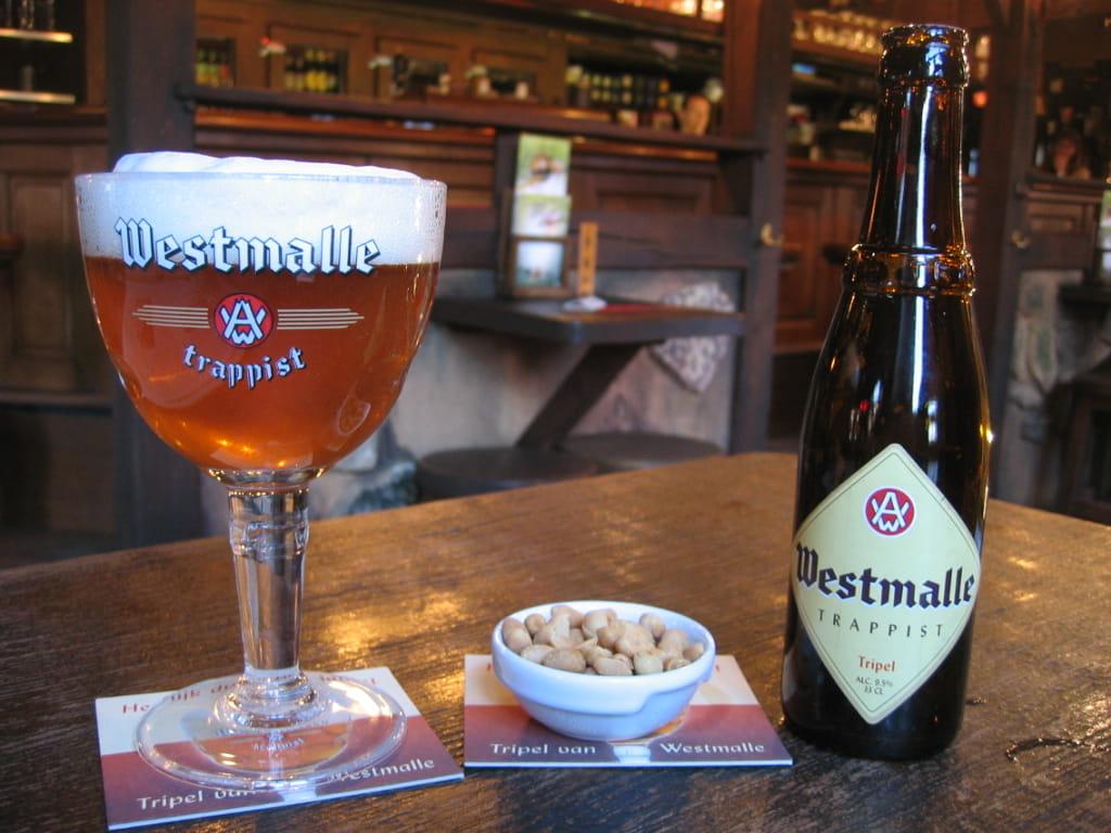 Westmalle Tripel. La prima birra trappista chiara della storia della birra.