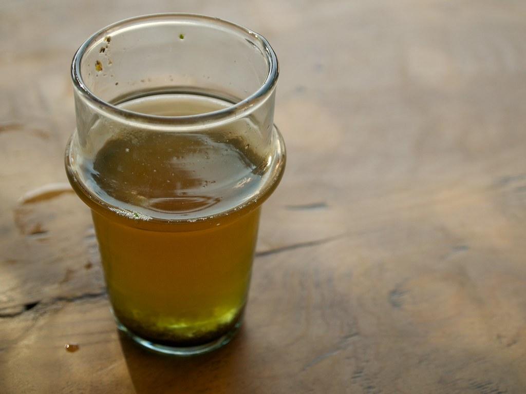 Tè o birra senza schiuma ?