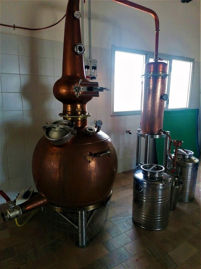 EXMU: L'Alambicco all'interno del birrificio