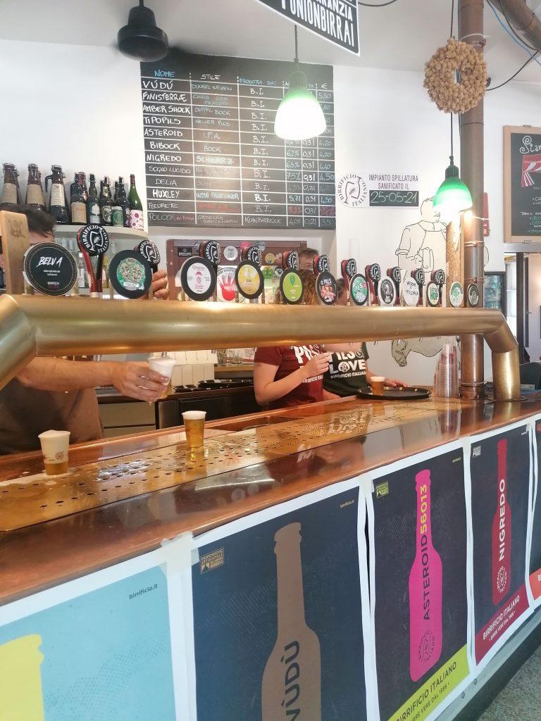 Alcune delle birre al Pils Pride 2021